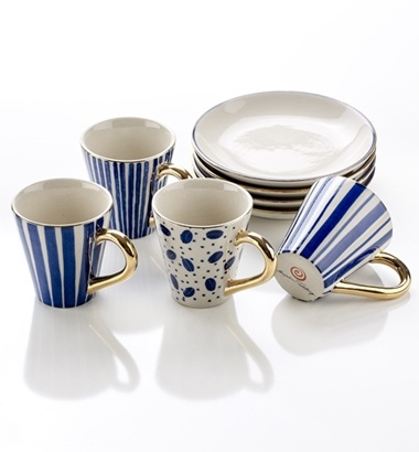 ESPRESSO CUPS WITH SAUCER